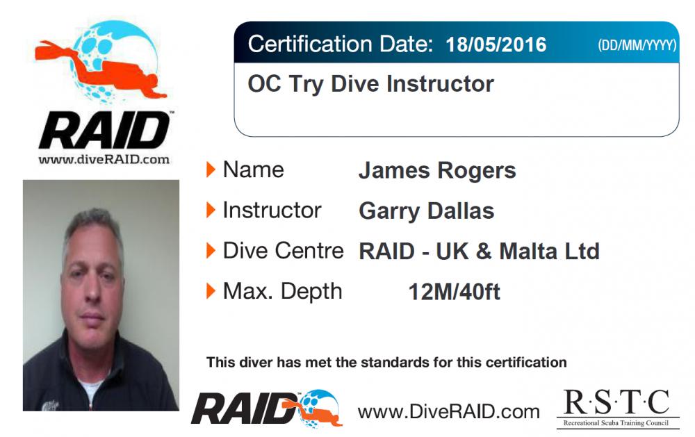 Raid C Card Makeover Dive Raid Uk Malta